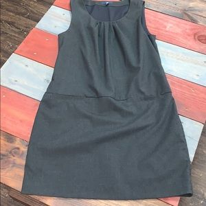 GAP Charcoal Dress with Faux Front Pocket Detail